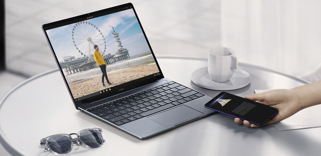 Huawei MateBook 13 funkcja OneHop