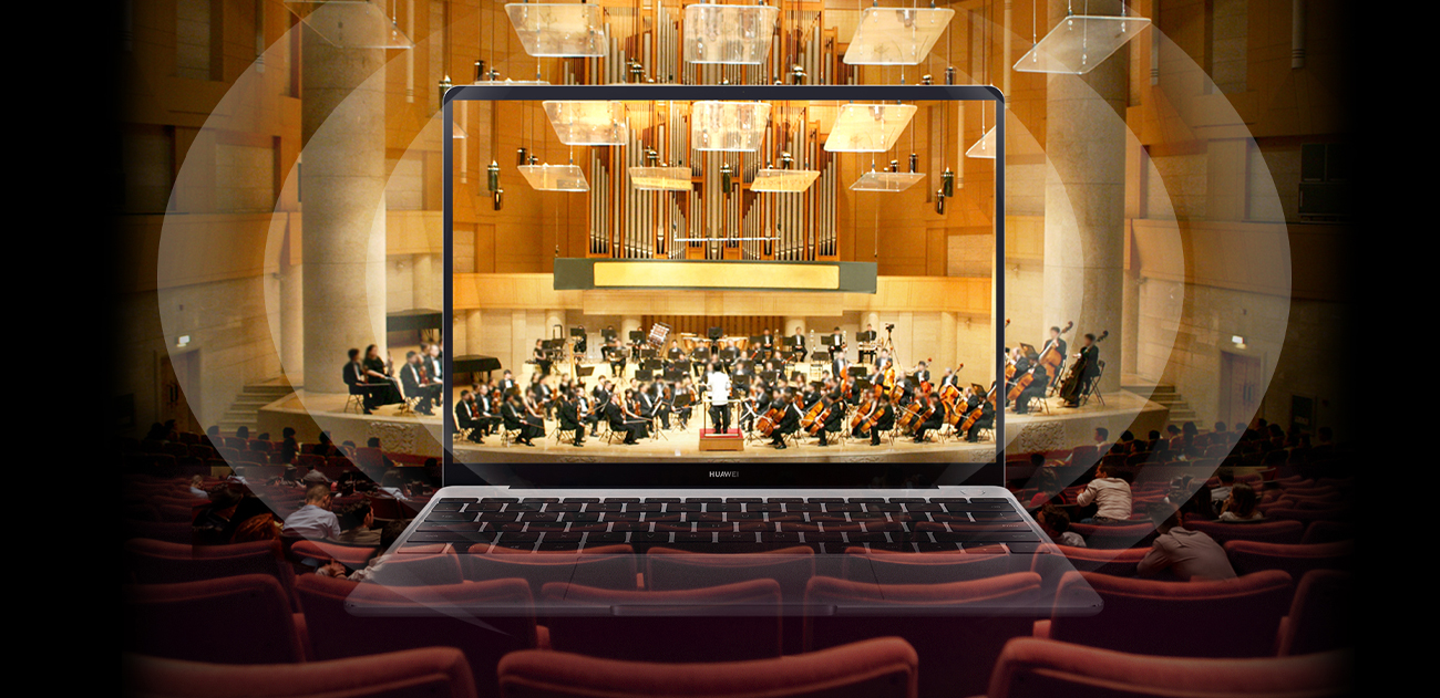Huawei MateBook 13 piękny obraz dźwięk