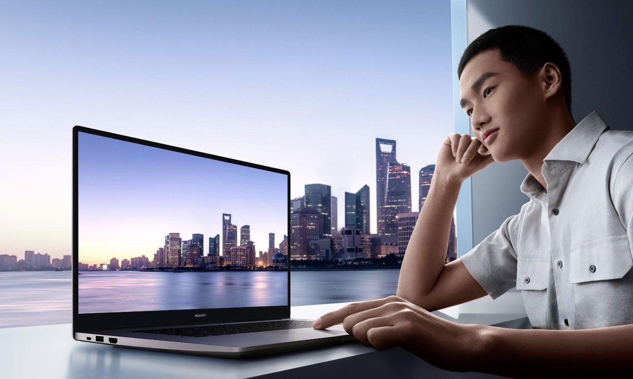 HUAWEI MateBook D 15 przestronny ekran IPS FullView FHD