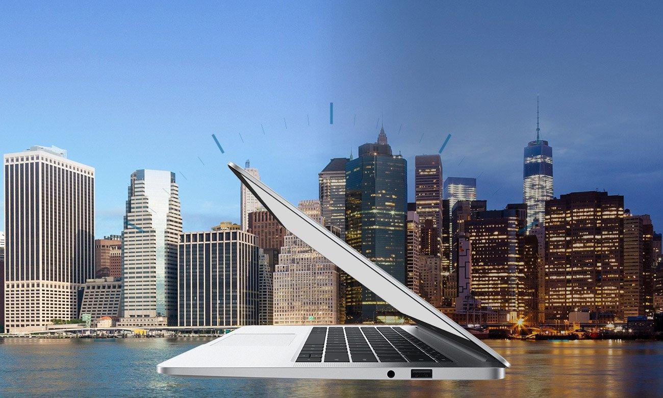 Huawei MateBook D14 Pojemna bateria, dłuższy czas pracy