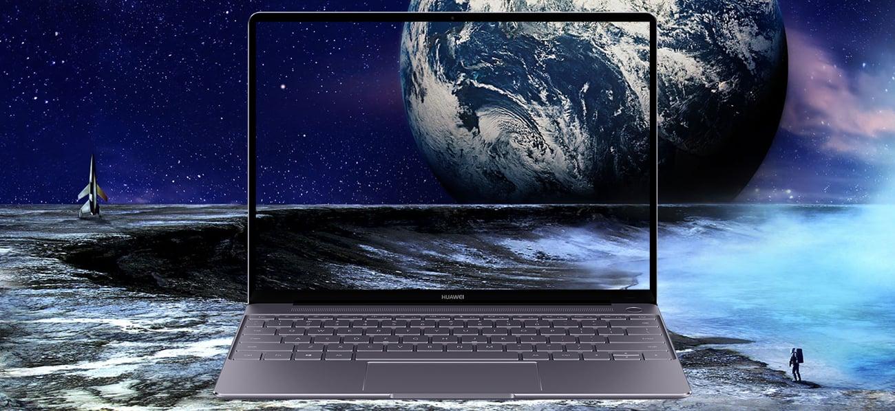Huawei MateBook X minimalistyczne ramki