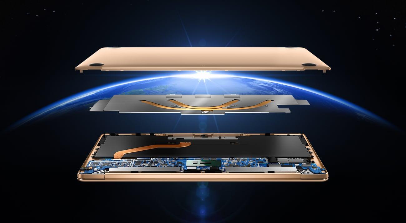 Huawei MateBook X procesor intel core i5 7-generacji
