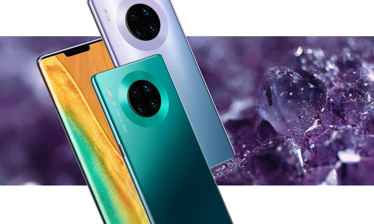 Huawei Mate 30 pro design klasy premium szkło metal