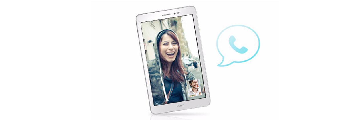Huawei MediaPad T1 8.0 WiFi wyraźny dźwięk