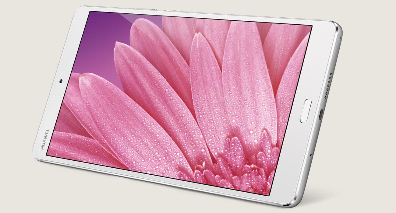 złoty Huawei MediaPad M3 8.0 WiFi ekran 8.4'' IPS clarivu 3.0