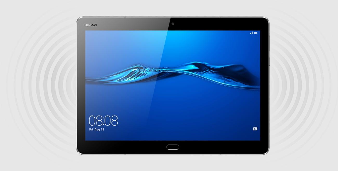 Space Grey Huawei MediaPad M3 Lite 10.0 LTE głośniki SWS 3.0 Harman Kardon