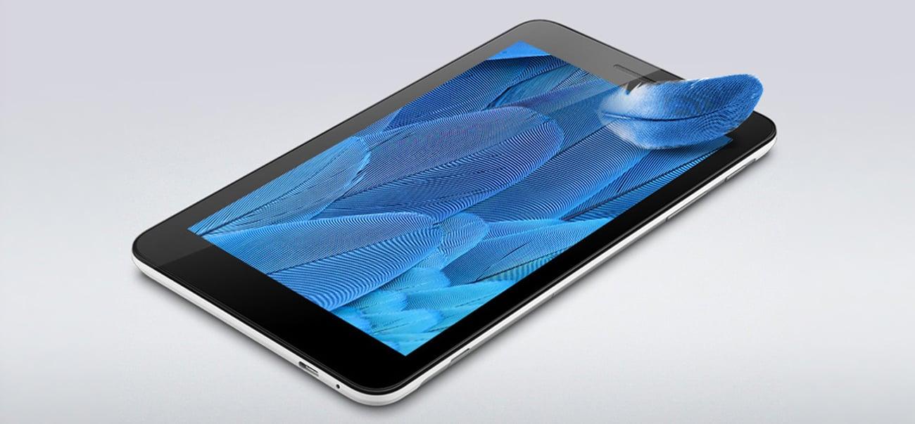 srebrny Huawei MediaPad T1 7.0 ekran HD IPS