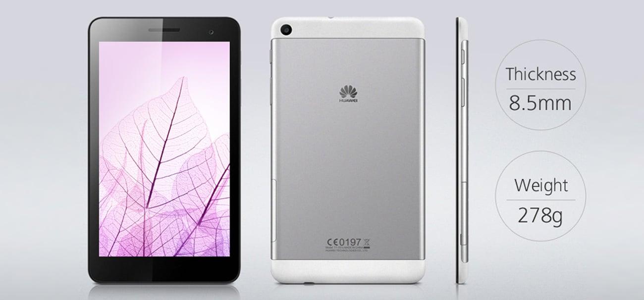 Huawei MediaPad T1 7.0 smukła metalowa obudowa