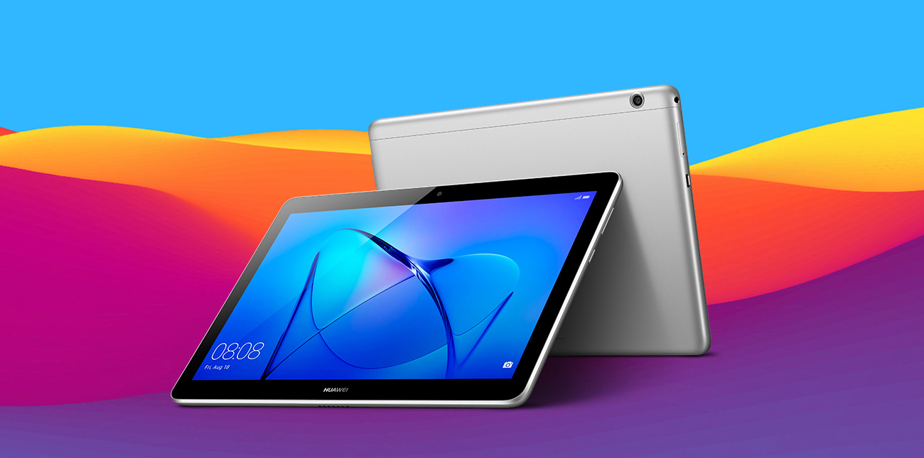 Szary Huawei MediaPad T3 10.0 LTE ekran 9,6'' IPS