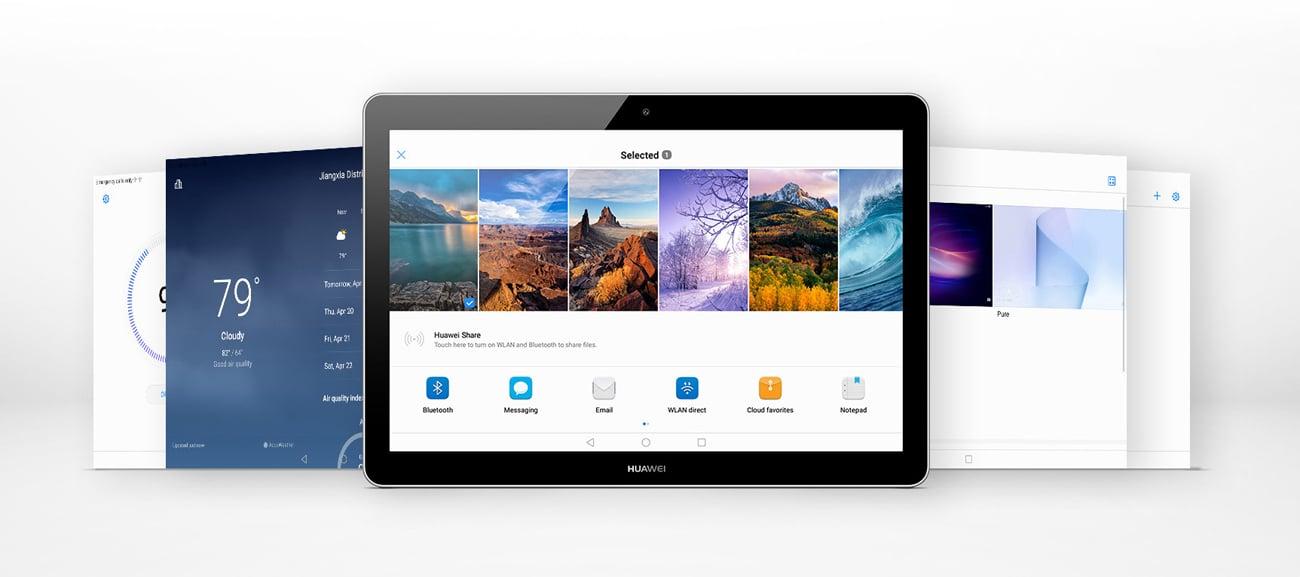 Huawei MediaPad T3 10.0 WiFi czterordzeniowy procesor mediatek Łączność LTE