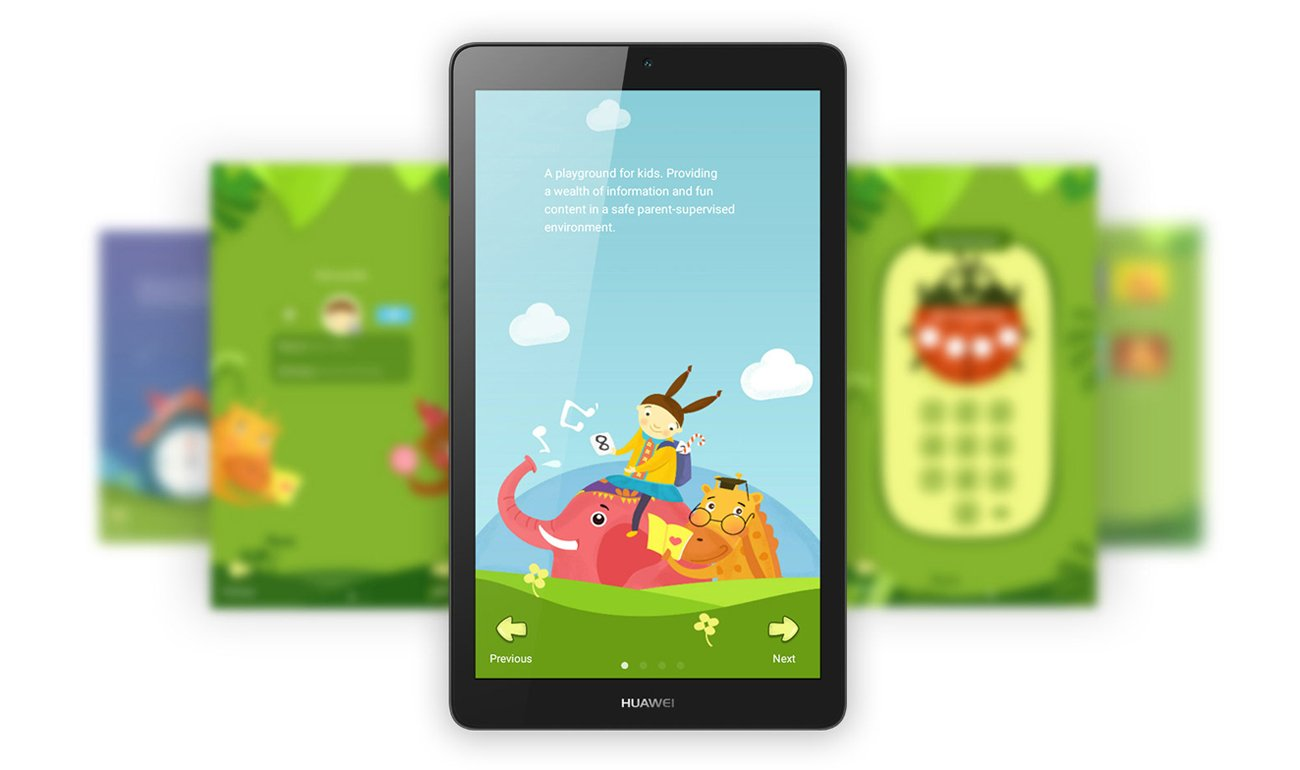 Huawei MediaPad T3 7.0 WiFi konfiguracja wielu kont