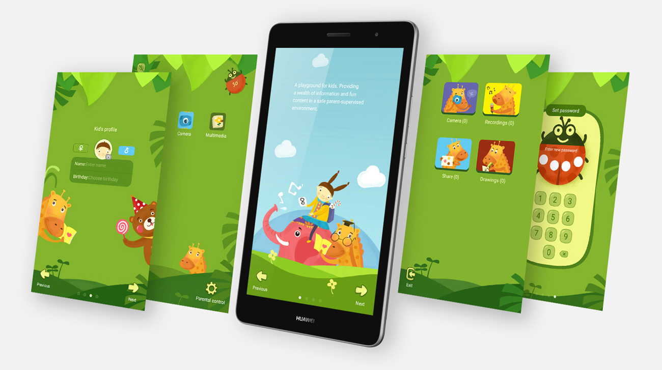 Huawei MediaPad T3 8.0 LTE konfiguracja wielu kont