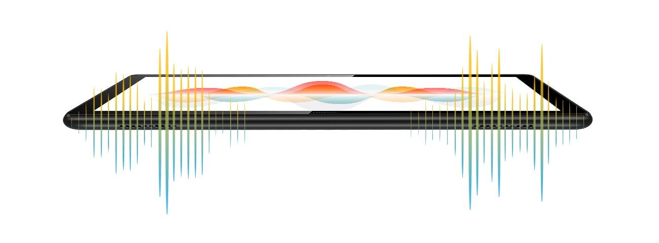 Huawei MediaPad T5 głośniki stereo histen audio