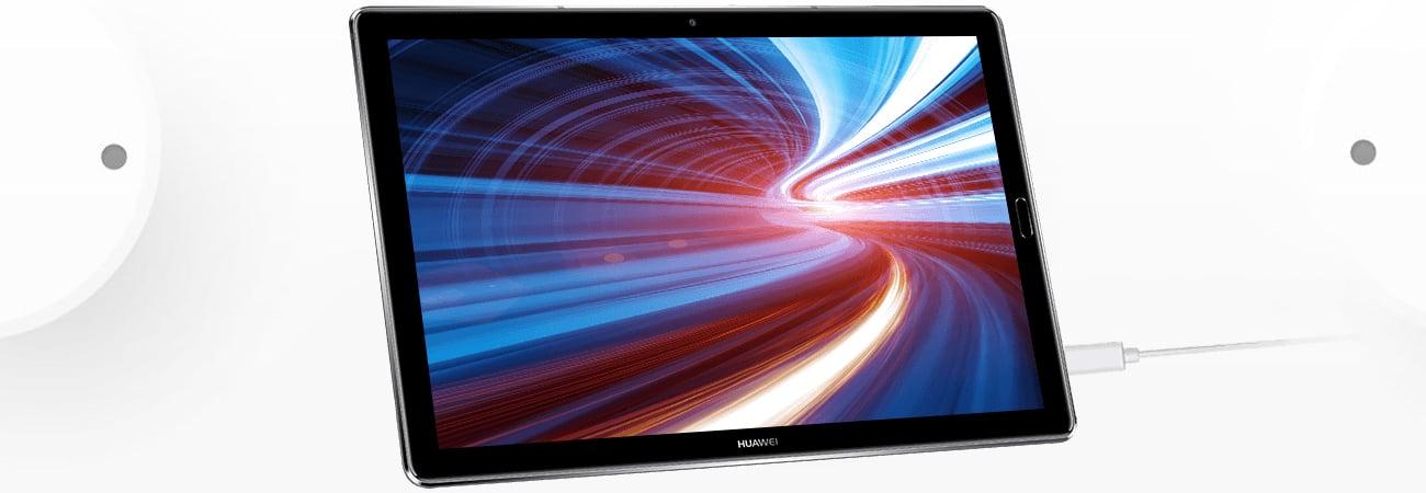 Szary Huawei MediaPad M5 LTE bateria 7500 mAh