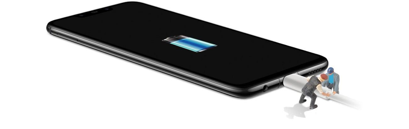 Huawei Nova 3 wytrzymala bateria