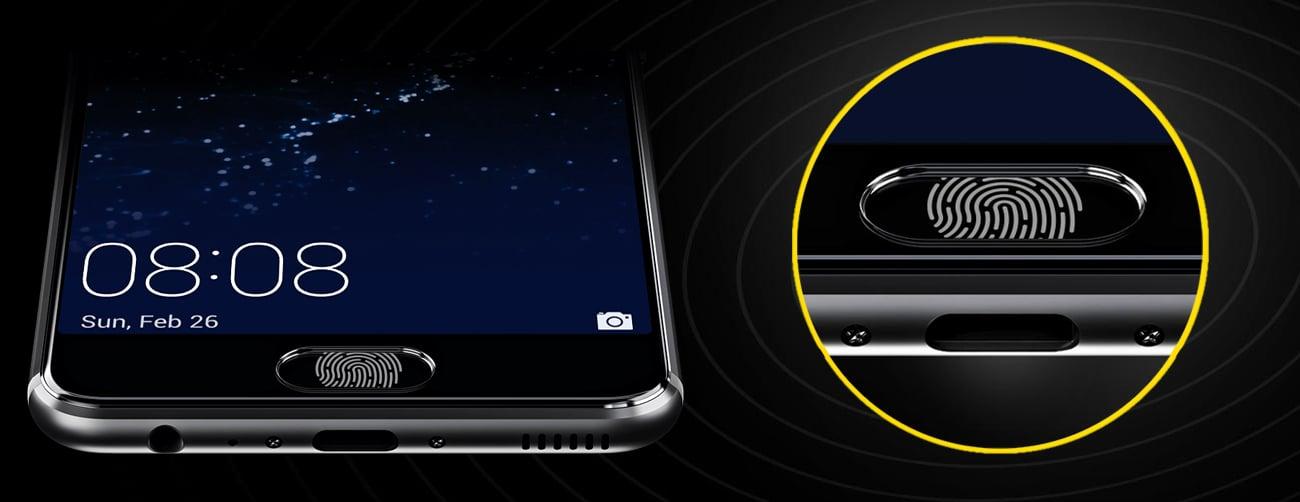 Huawei P10 Graphite Black czytnik linii papilarnych