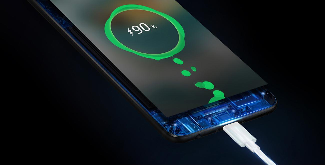 Huawei P10 Graphite Black szybkie ładowanie