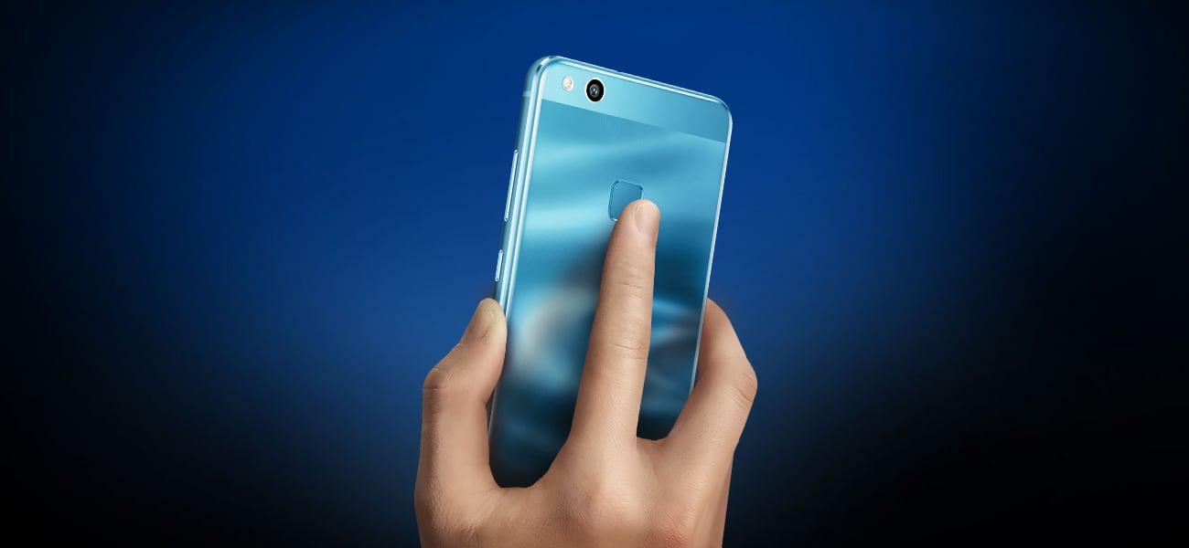 Huawei P10 Lite czytnik linii papilarnych
