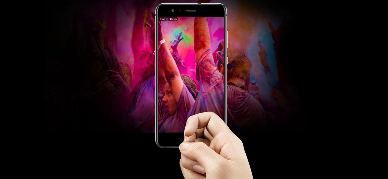 Huawei P10 Lite obsługa gestami