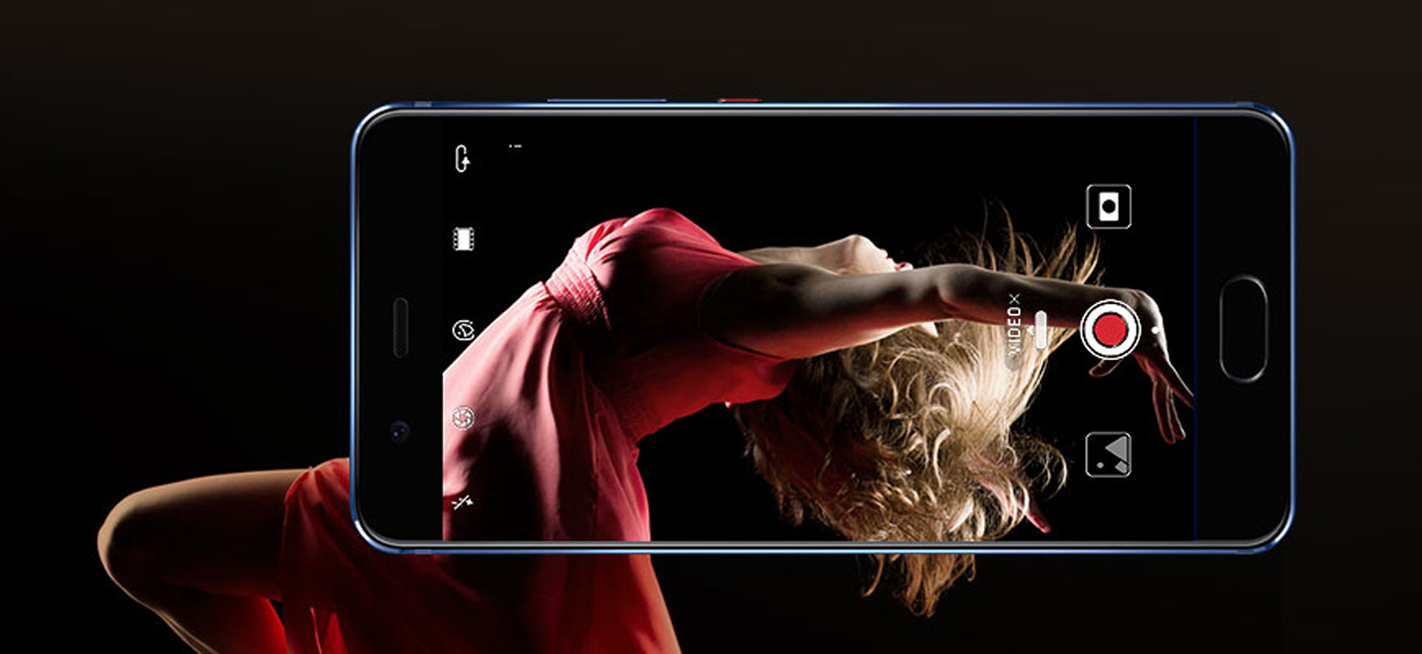 Huawei P10 Plus Graphite Black leica selfie