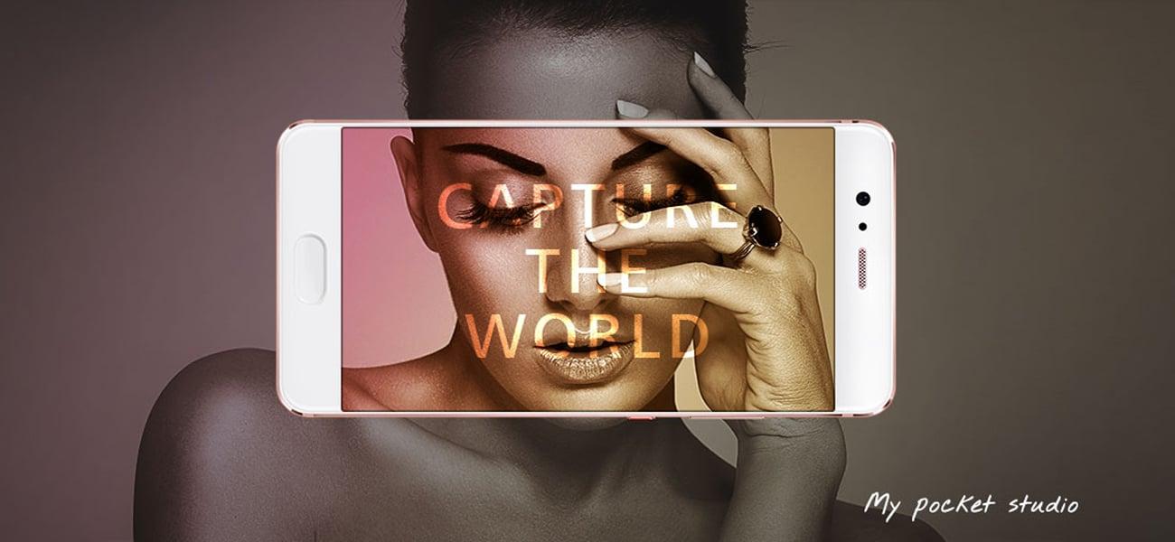 Huawei P10 Plus Graphite Black artystyczne algorytmy fotograficzne