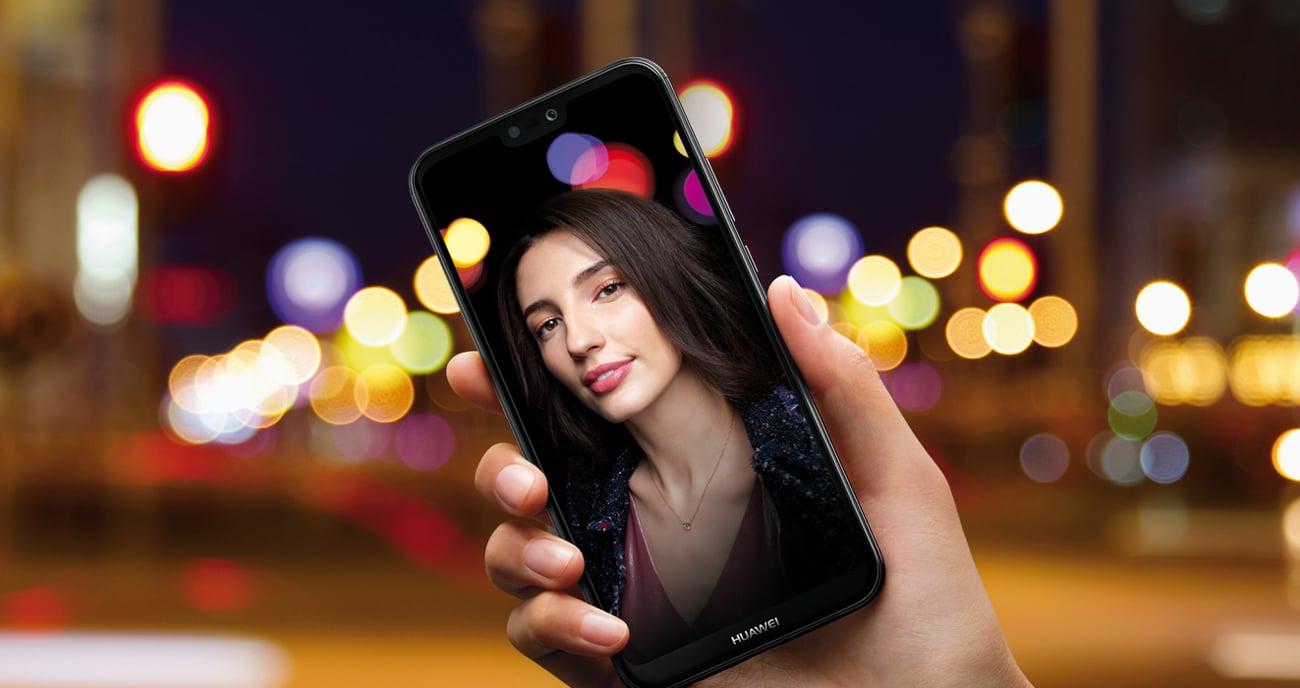 Huawei P20 Lite face unlock czytnik linii papilarnych