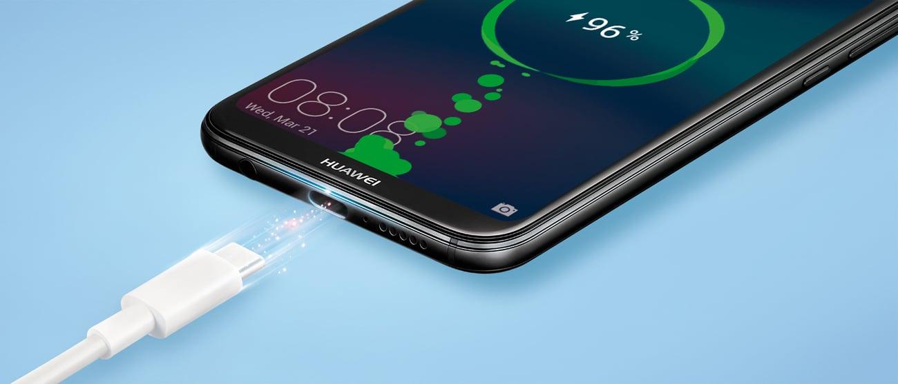 Huawei P20 Lite bateria 3000 mah szybkie ładowanie