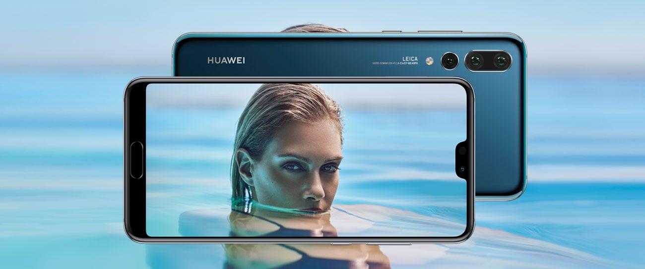 czarny Huawei P20 pro obudowa ze szkła i metalu