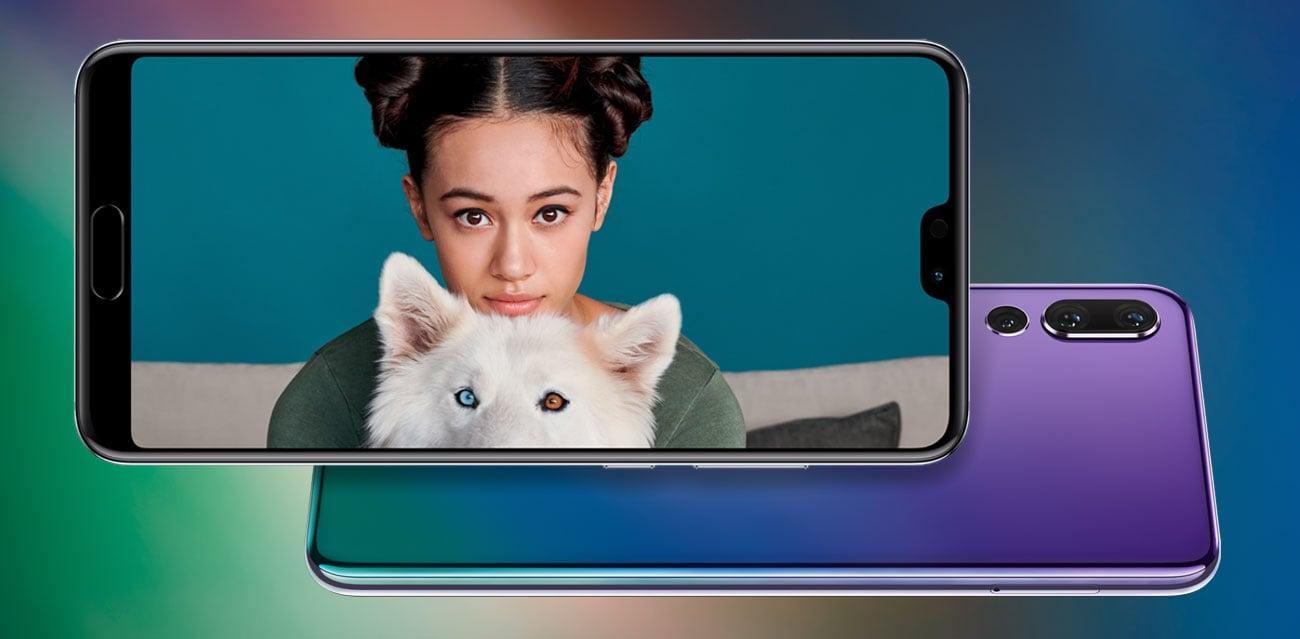 Huawei P20 pro portrety 3d facial mapping bokeh