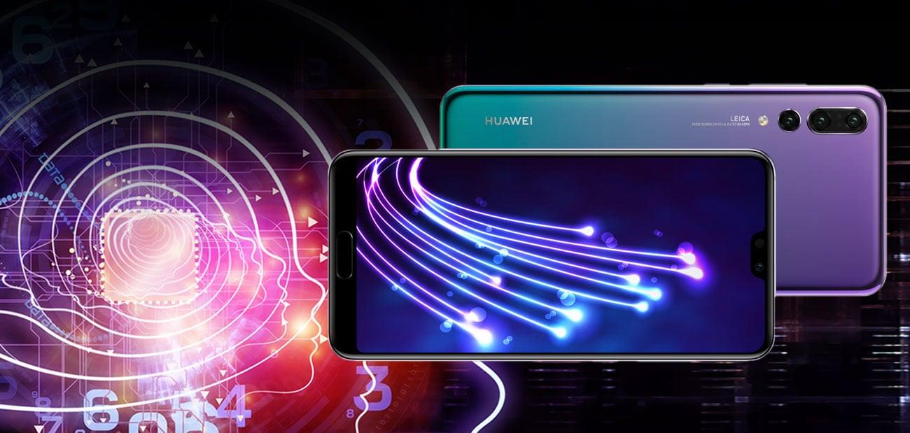 Huawei P20 pro ośmiordzeniowy procesor Kirin 970 4000 mAh NFC android 8