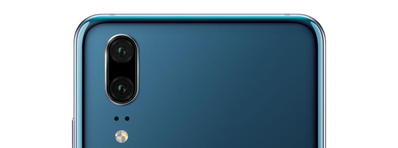Huawei P20 aparat 20 + 12 mpix summilux ois fusion pixel
