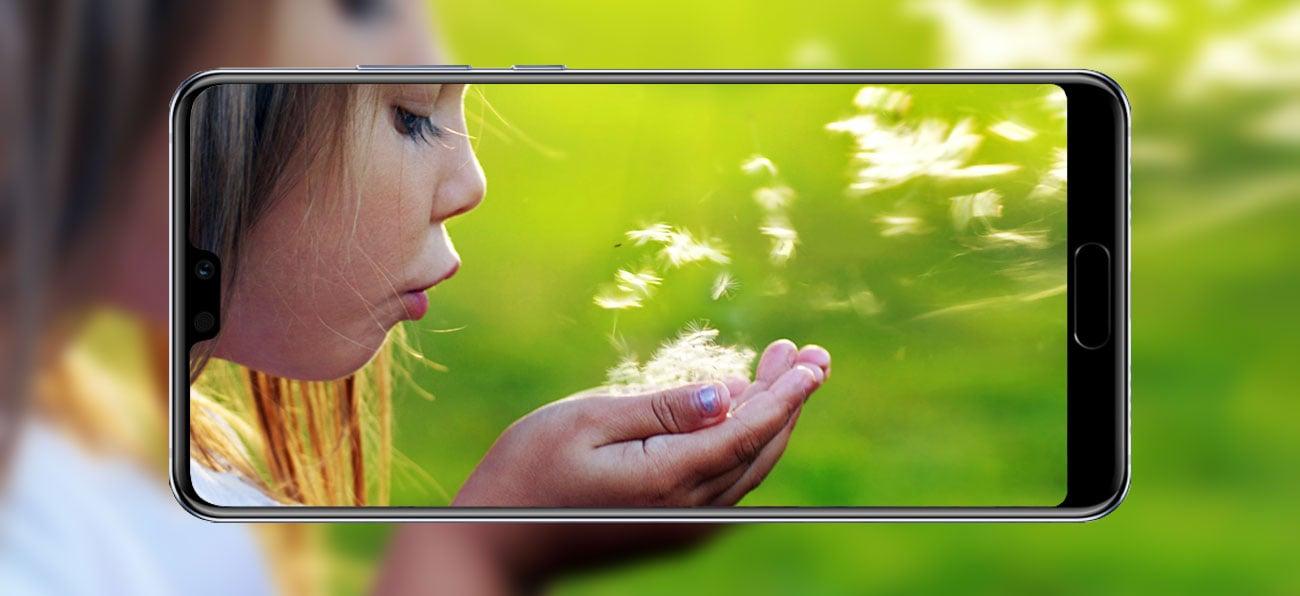 Huawei P20 stabilizacja obrazu super slow motion 960 fps