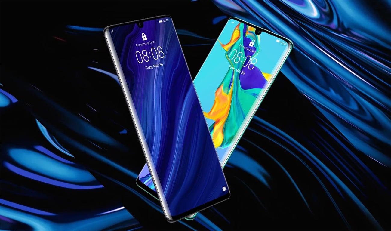 Huawei P30 pro design klasy premium