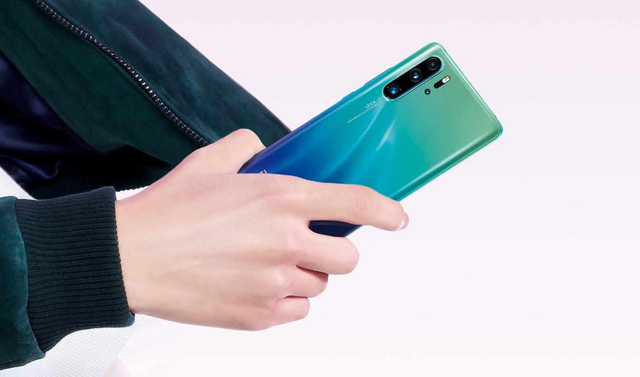 Huawei P30 pro poczworna kamera leica