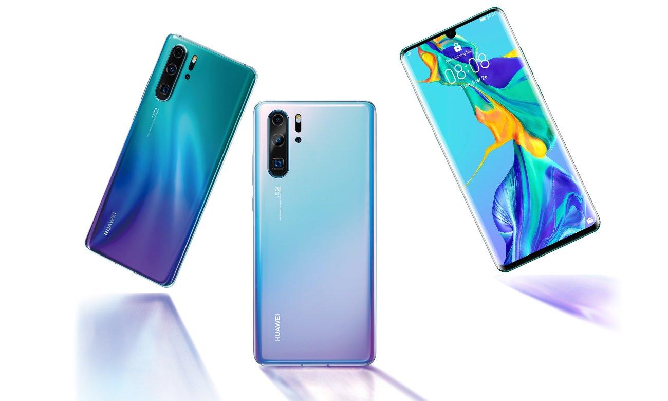 Huawei P30 pro tryb nocny telefoto