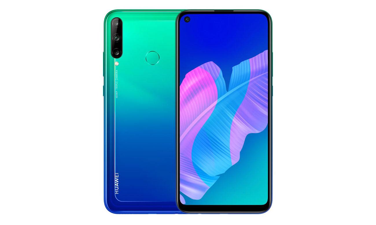Smartfon HUAWEI P40 lite E niebieski