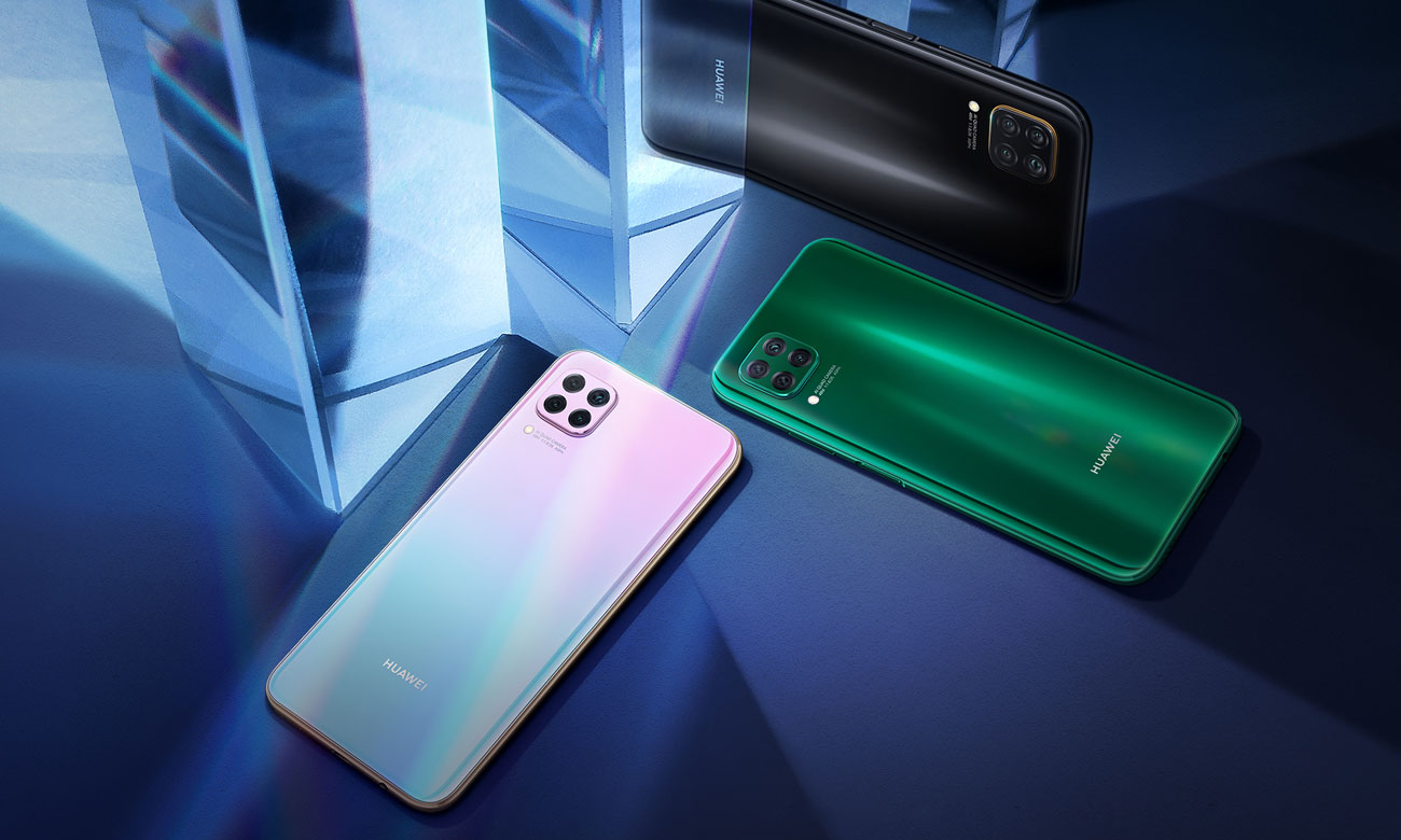 Huawei P40 Lite z systemem Android 10