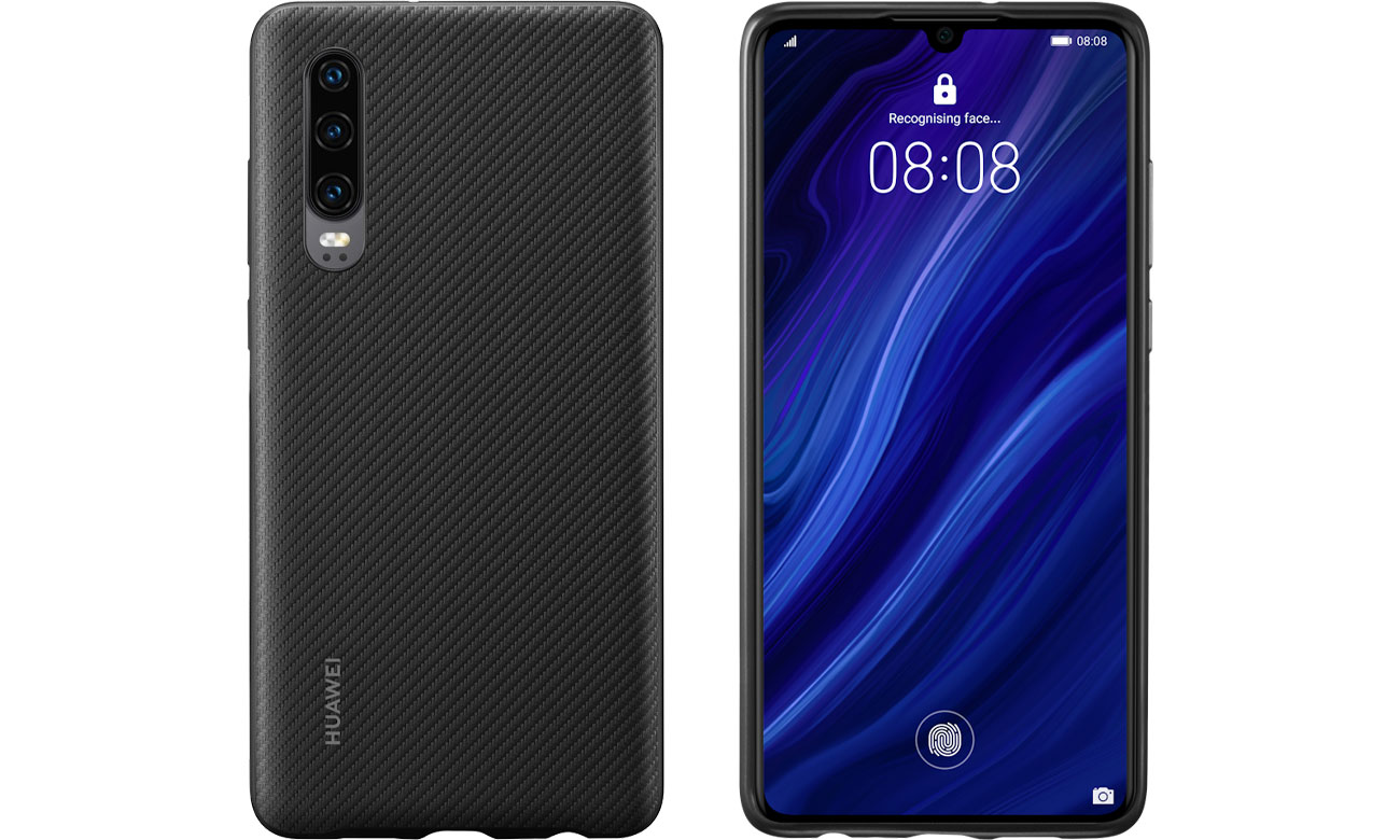 Etui Huawei Plastikowe Plecki do Huawei P30 czarny