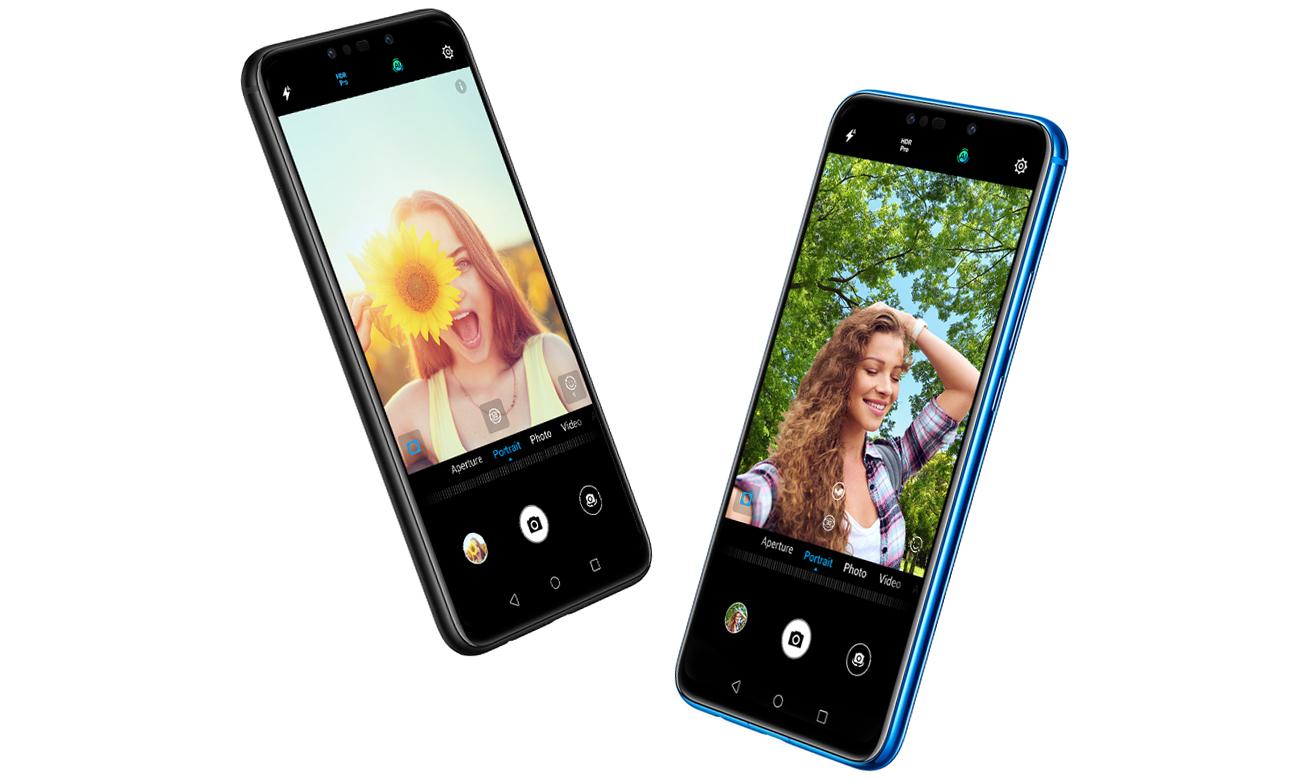 HUAWEI P Smart+ podwójny aparat selfie 24 + 2 mpix hdr pro