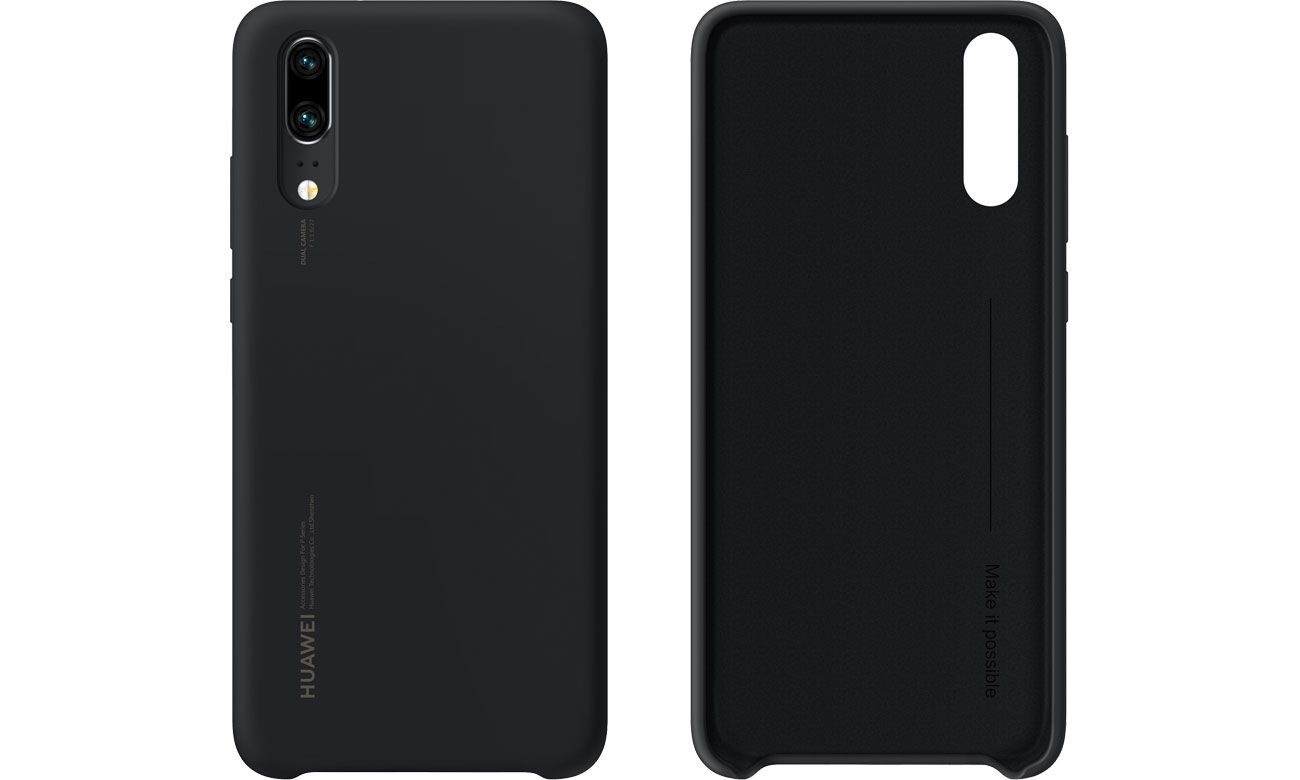 Huawei Silicon Case do Huawei P20 Black 51992365