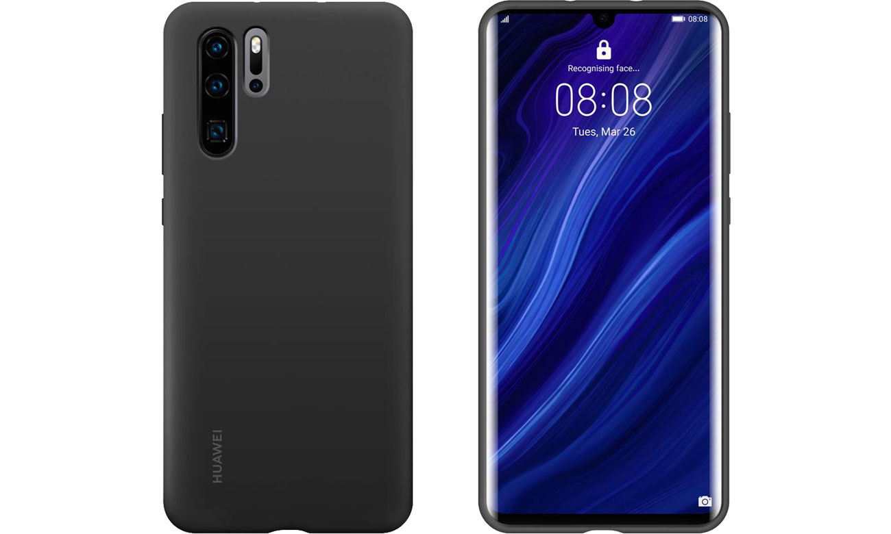 Etui Huawei Silicone Case do Huawei P30 Pro czarny