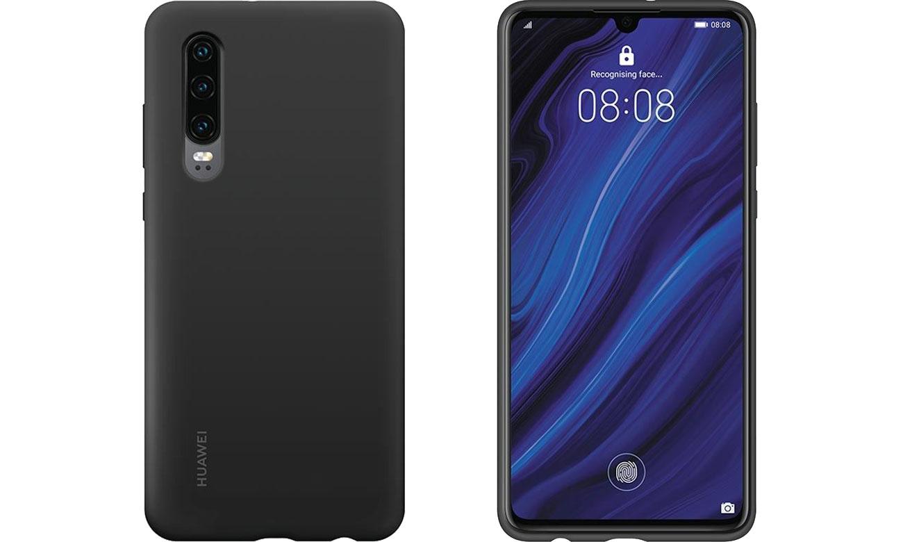 Etui Huawei Silicone Case do Huawei P30 czarny