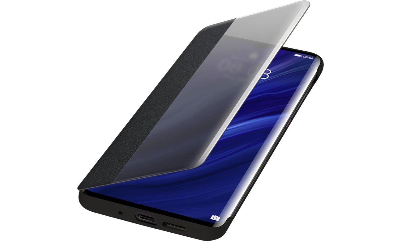 Etui Huawei Smart View Flip Cover do Huawei P30 Pro czarny
