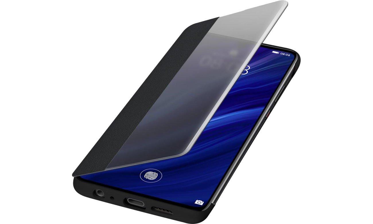 Etui Huawei Smart View Flip Cover do Huawei P30 czarny