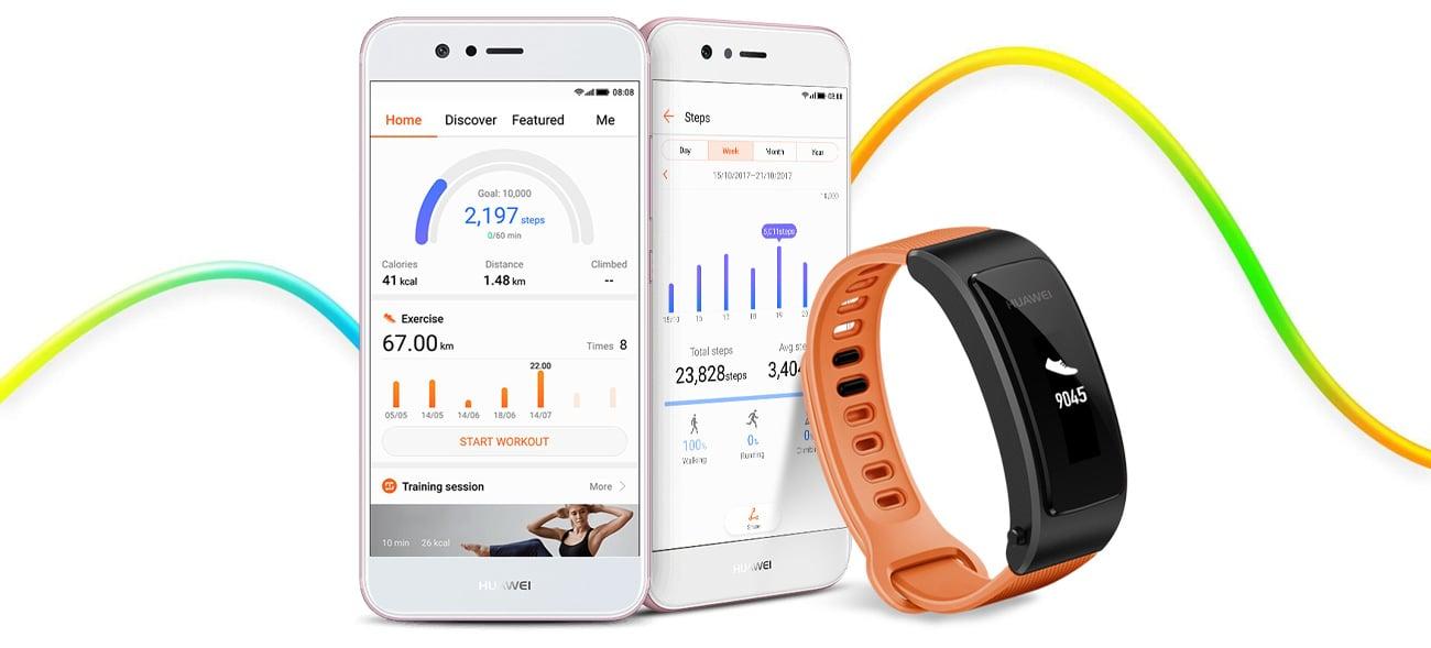 Huawei TalkBand B3 Lite wear app