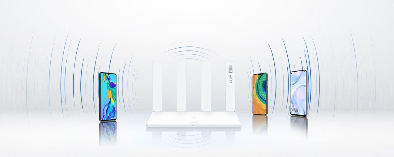 Huawei AX3 - Obsługa wielu urządzeń