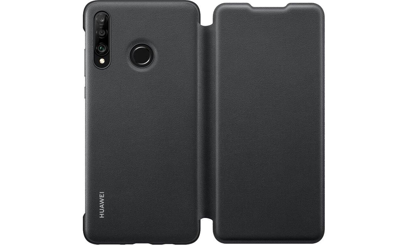 Etui z klapką Wallet Cover do Huawei P30 Lite Black