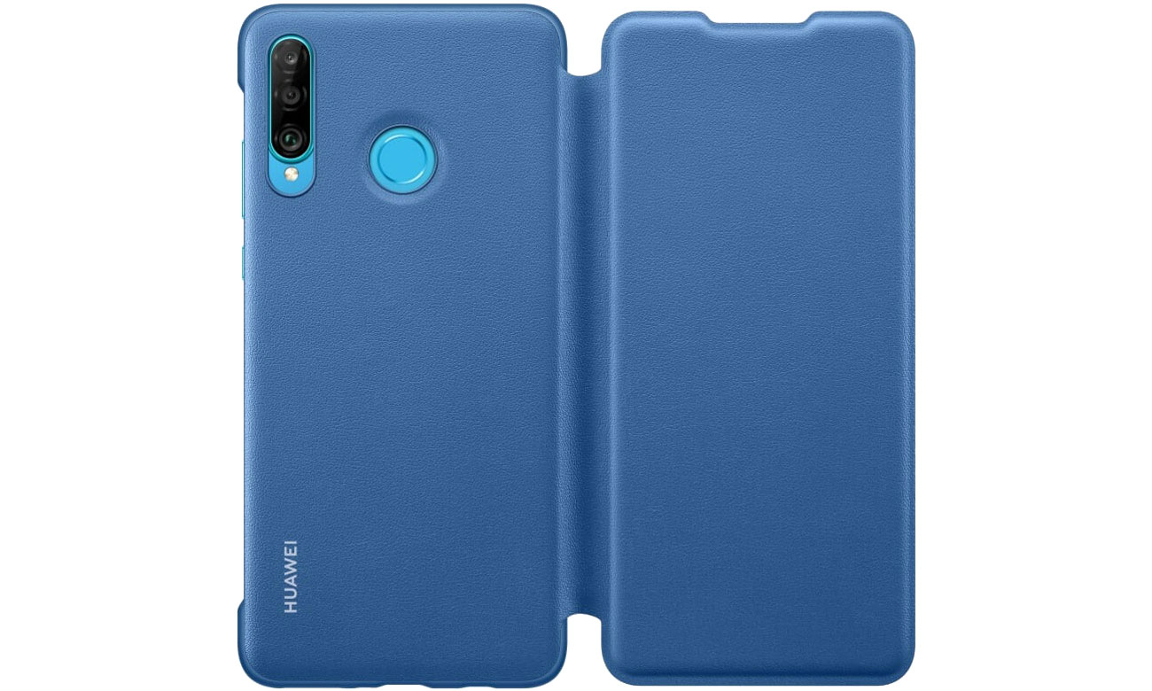 Etui z klapką Wallet Cover do Huawei P30 Lite Blue