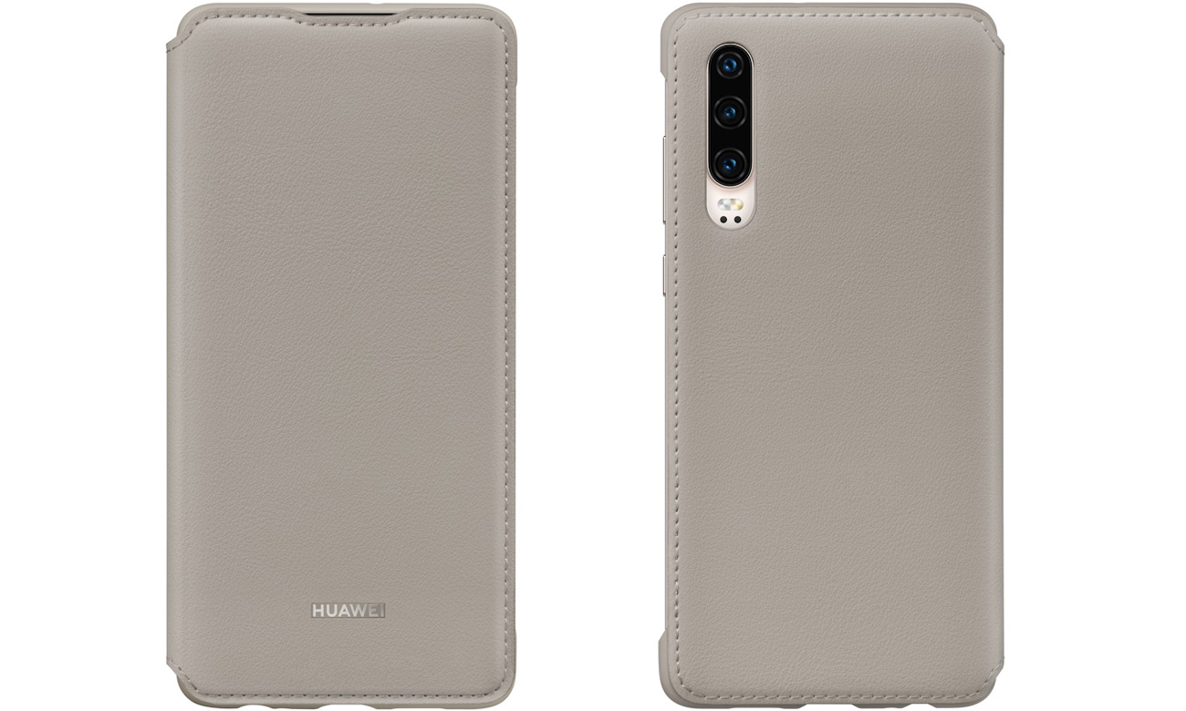 Etui z klapką Wallet Cover do Huawei P30