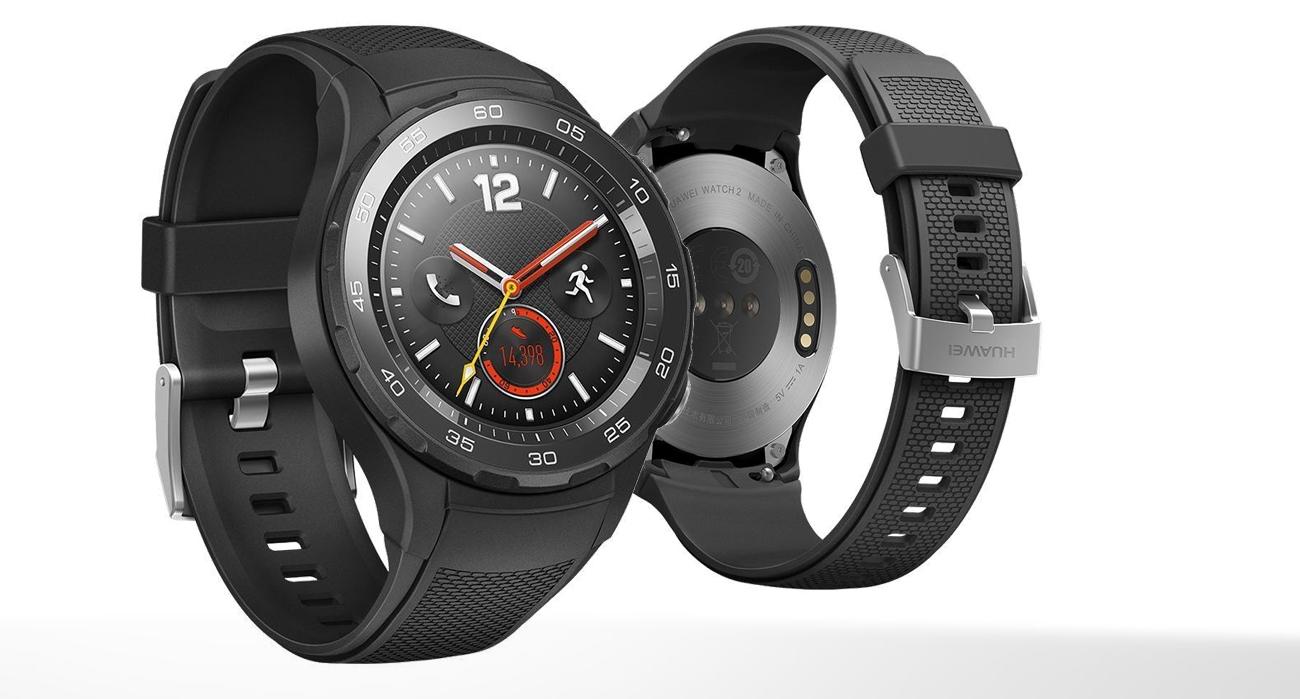 czarny Huawei Watch 2 Sport LTE ceramiczna koperta
